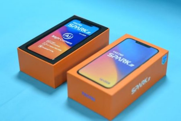 TECNO Spark 3 Unboxing pic