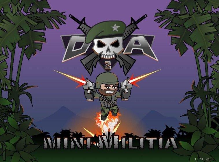 Download Mini Militia Mod Apk [Doodle Army 2 Apk ]