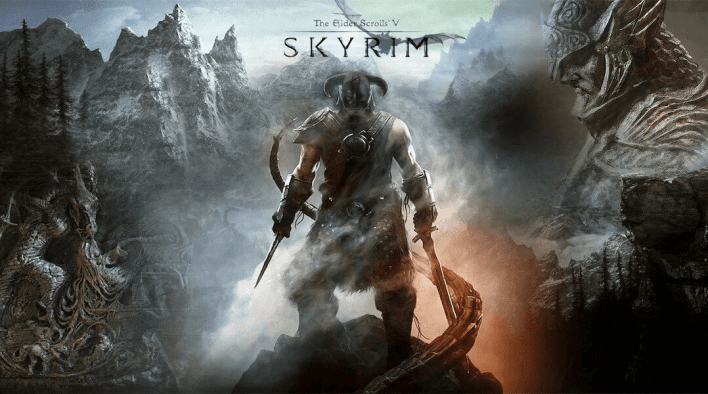 The Elder Scrolls V: Skyrim is the game in discussion