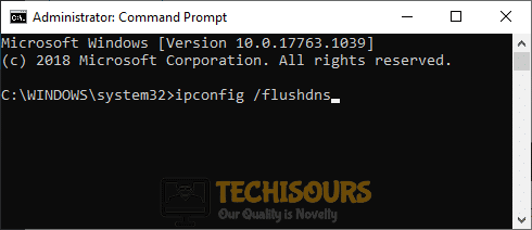 Flushing DNS to fix Error 0xC1900223