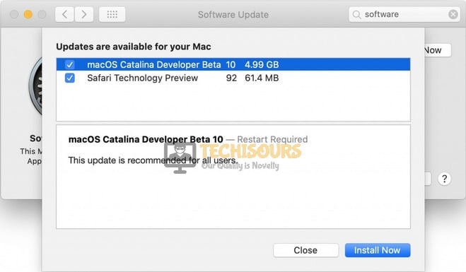 Download Mac OS Catalina to get rid of an error occurred while preparing the installation