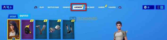 Change character skin to get rid of fortnite error code 91
