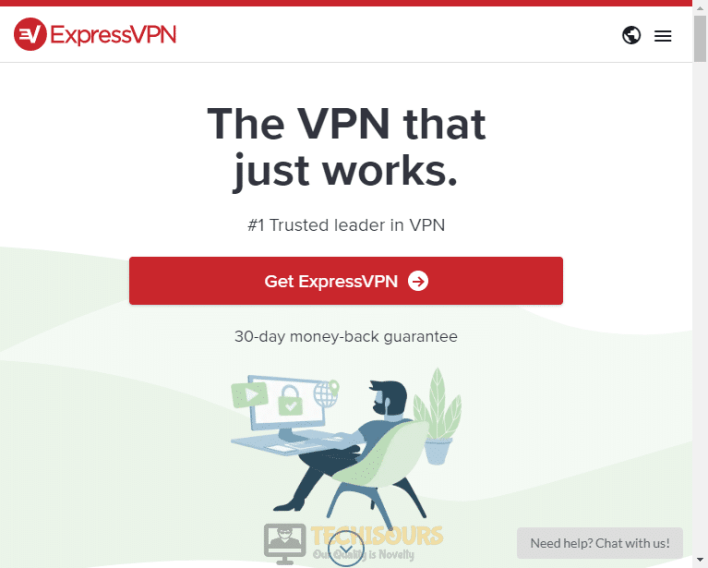 Download Express VPN to get rid of state of decay 2 code 1006