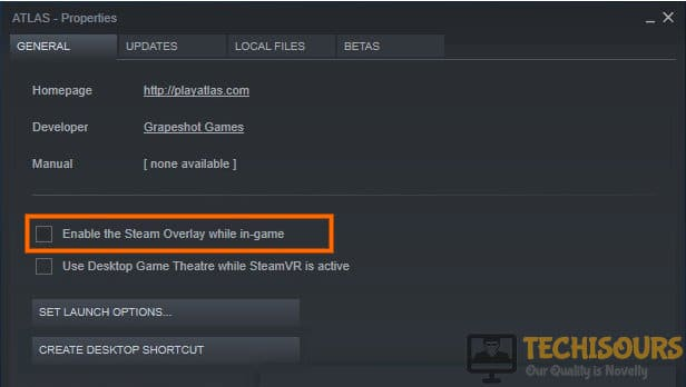 Enable the Steam overlay while in-game to resolve oblivion crash on startup problem