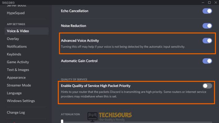 Disable some features to get rid of discord stops working in game problem