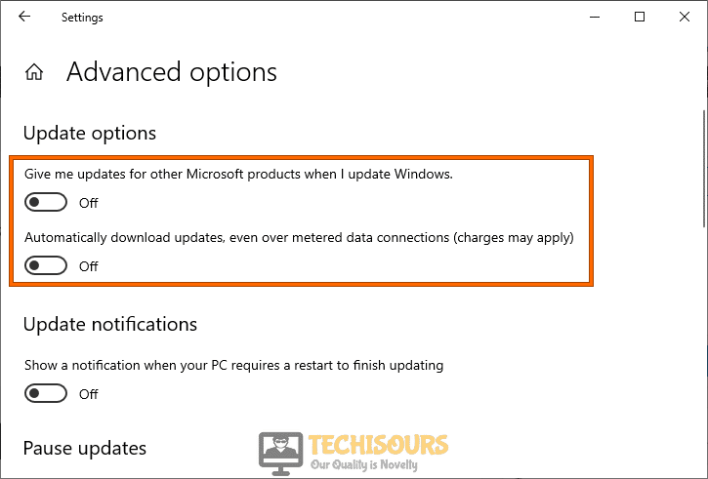 Disable Windows Updates to fix no amd graphics driver is installed issue