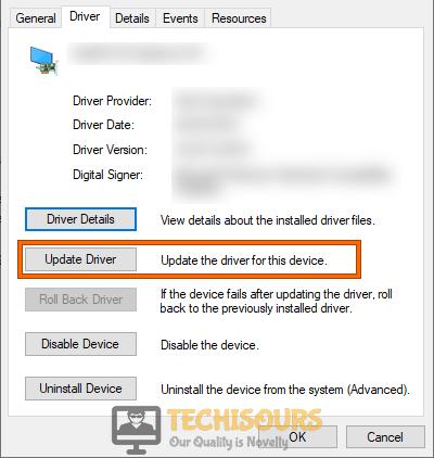 Update USB Driver