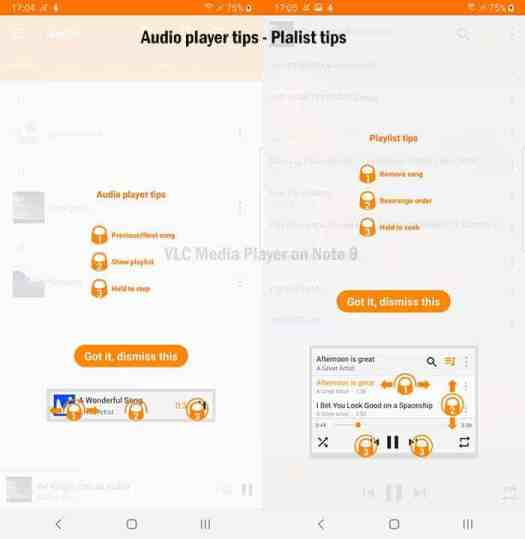 VLC Media Player Tutorials for Audio