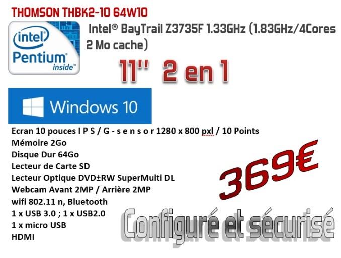 THOMSON THBK2-10 64W10
