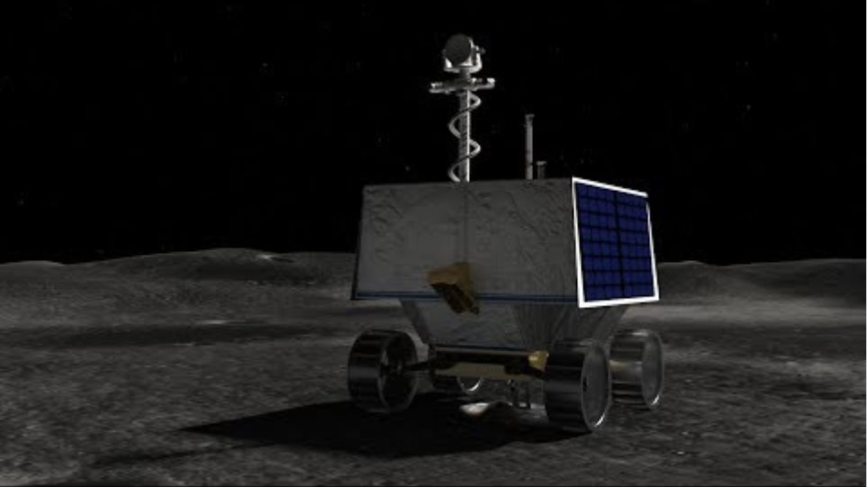 NASA is sending a rover to hunt for water on the Moon