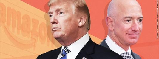 Bezos: Αγωγή κατά του Trump για την απώλεια συμβολαίου $10δις με το Αμερικανικό Πεντάγωνο