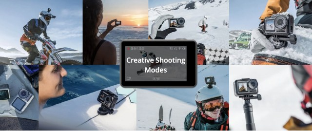 DJI Osmo Action Camera for youtube