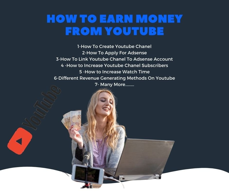 how to earn money on youtube 2021, make money easily