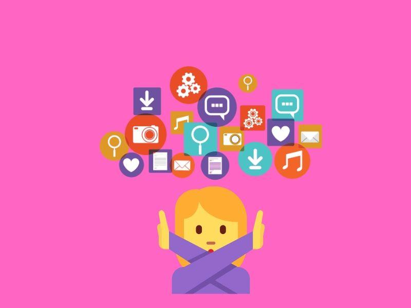 disadvantages of social media marketing for business