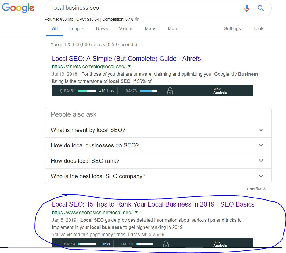 are backlinks still important -serp one one