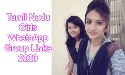 Tamil Nadu Girls WhatsApp Group Links 2020