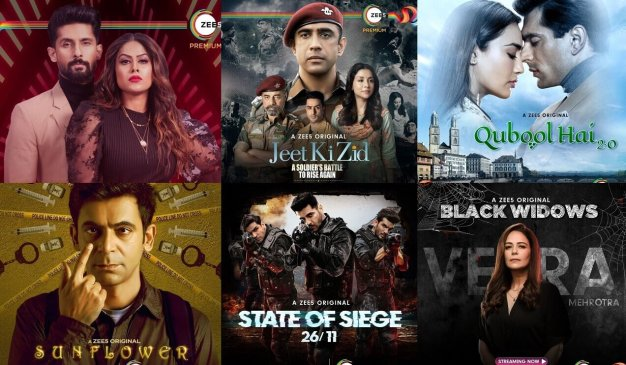 All Zee5 Web Series Cast and Actress List