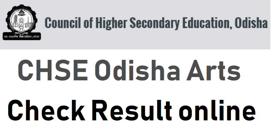 Odisha CHSE Arts Result 2021 BSEO 12th Name Wise, School Wise