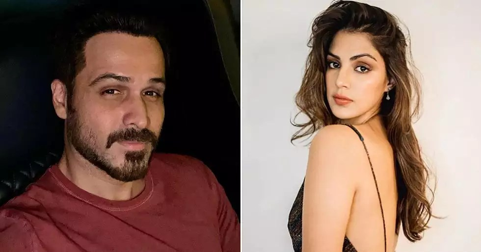 Emraan Hashmi speaks about his experience of working with Rhea Chakraborty