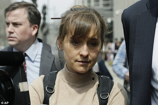 Actress turned sex cult recruiter Allison Mack is checking into her prison term three weeks early