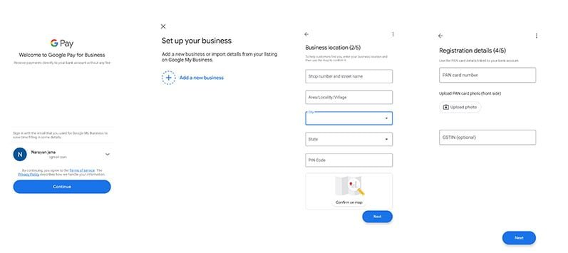 Setup Google Pay For Business - Fees & Charges. 1