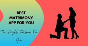 Best Matrimonial App in India