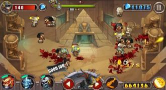 Zombie Evil - list of top Android zombie Games