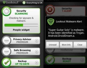 Best Antivirus and Security for Android devices Lookout