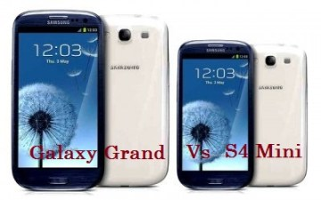 Differences between Galaxy S4 vs Galaxy Grand comparison