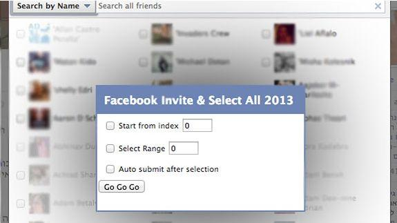 Facebook How to invite all Friends to like your Facebook Page or