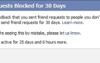how to send friend requests in facebook when Blocked
