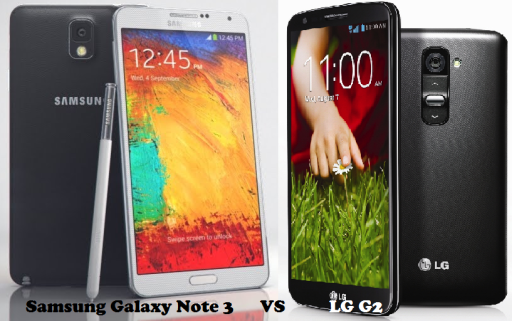 Samsung Galaxy Note 3 vs LG G2 comparison and differences