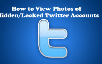 how to see photos of hidden twitter accounts