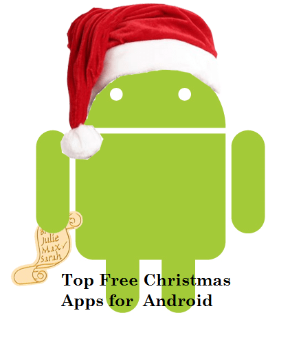 5 best free christmas apps for android devices - Free Christmas Apps