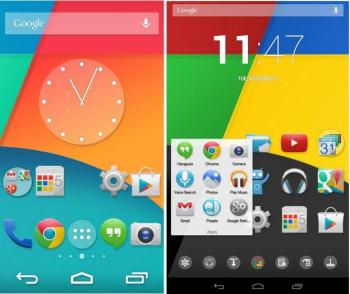 How to get android 4.4 Kitkat look on jellybean devices