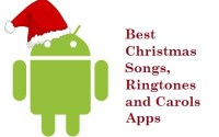 best christmas songs, ringtones and carols apps for android