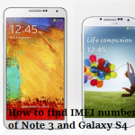 how to check imei number of galaxy s4 and Note 3