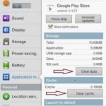 how to fix error code 941 while updating apps in play store
