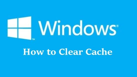 How to Clear or Delete Cache in Windows 7 8 and 8.1