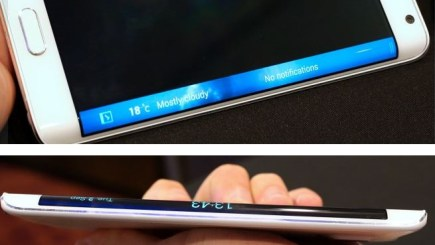 Samsung Galaxy Note Edge Announced features