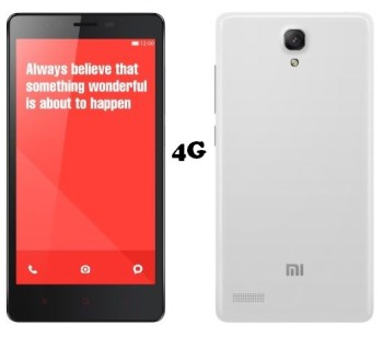 Xiaomi Redmi Note 4G variant launch pricing