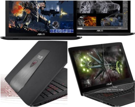 Asus ROG GL552 gaming laptop features and pricing