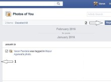 How to remove all tags at once from photos in facebook