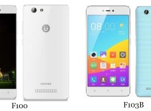 Gionee F100 and F103B launched in China Specs and price