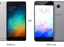 Xiaomi Redmi 3s vs Meizu 3s Comparison and Differences
