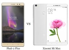 lenovo phab 2 plus vs xiaomi mi max comparison