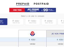Reliance Jio Prime Plans and details