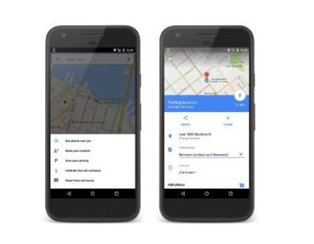 How to use parking spot reminder in Google Maps for Android or iOS devices