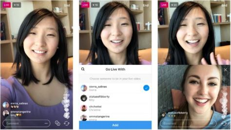 How to add a friend to your Live Video in Instagram
