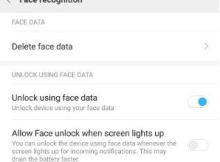 How to Activate and Use Face Unlock feature in Xiaomi Redmi Note 5 Pro